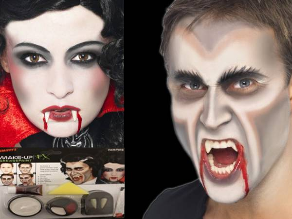 kit maquillage halloween vampire. Black Bedroom Furniture Sets. Home Design Ideas