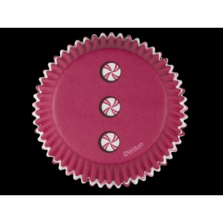 Paquet de 50 caissettes à cupcakes en papier Ø : 5 cm