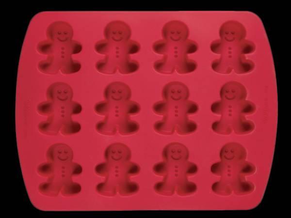 Moule cake pops silicone wilton bonhomme thema deco - Moule a cake silicone ...