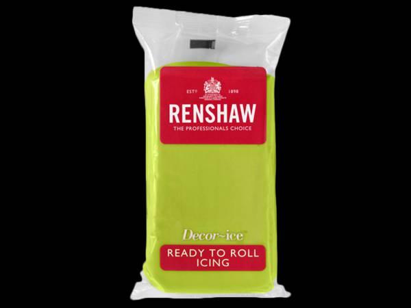 Pâte à sucre vert lime 250gr Renshaw