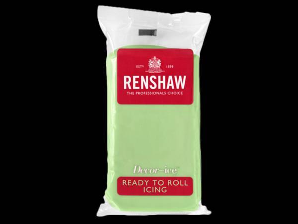 Pâte à sucre Vert pastel 250gr Renshaw