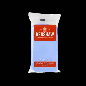 Pâte à sucre bleu bébé 250gr Renshaw