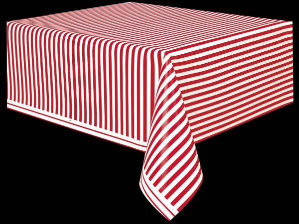 vaisselle jetable nappe a rayures rouge blanc. Black Bedroom Furniture Sets. Home Design Ideas