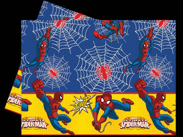 Nappe spiderman power deco anniversaire - Deco anniversaire spiderman ...