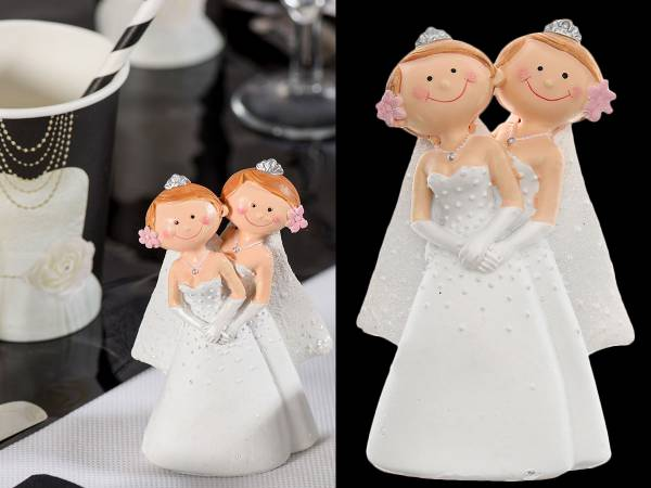 figurine mariage femme mme et mme - Figurine Mariage Gay