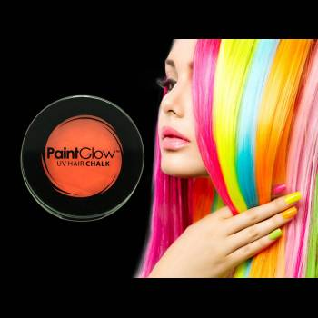 Fard à cheveux UV reactive Orange