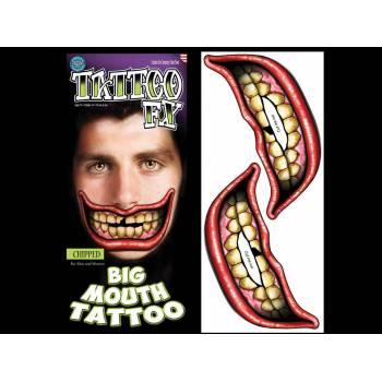2 Tattoo Big Mouth ébréché