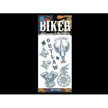 Set Tattoos Biker