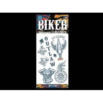 Set Tattoos Biker
