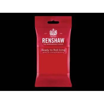 Pâte à sucre rouge 250gr Renshaw Pro