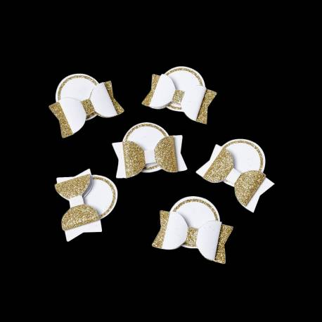 6 Noeud pap marque placeor noeud :4cm étiquettes : 3cm