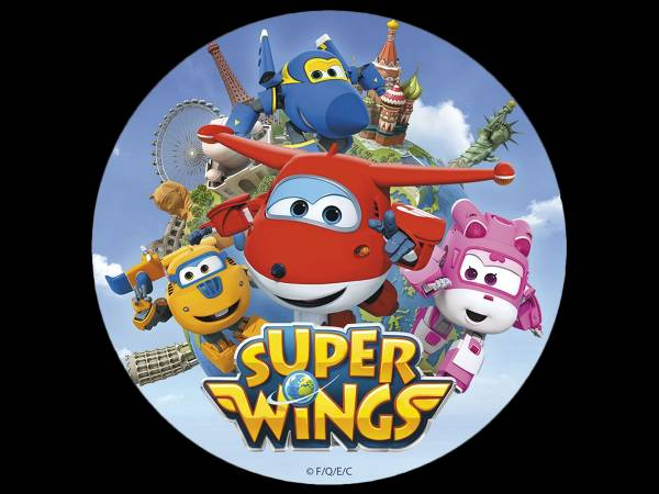 Disque en sucre Super wings