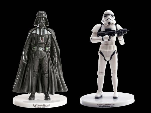 Set 2 figurines Star Wars