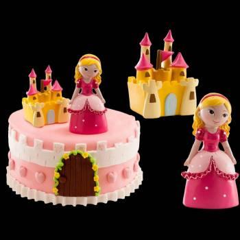 Set 2 décors princesse + château