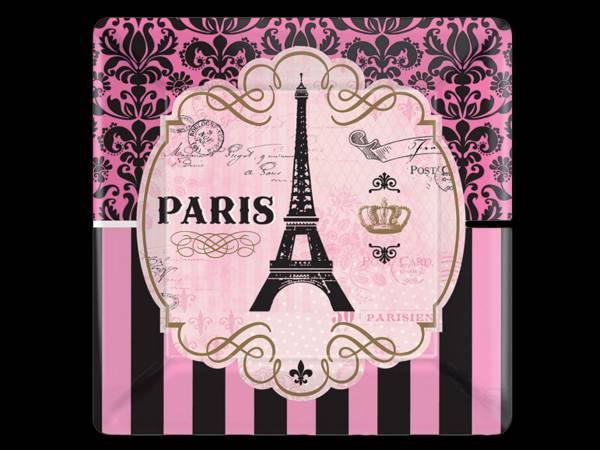 8 Assiettes Paris