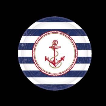 8 Assiettes maritime