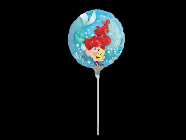 Mini ballon hélium Ariel et polochon