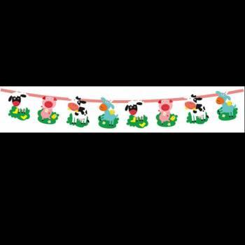 Banderole animaux de La Ferme