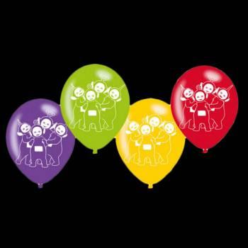 6 Ballons latex Teletubbies