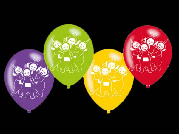 Ballons latex Teletubbies