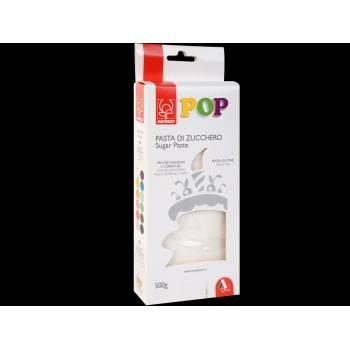 Pâte à sucre blanche POP 500gr
