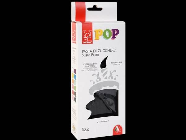 Pâte à sucre noire POP 500gr