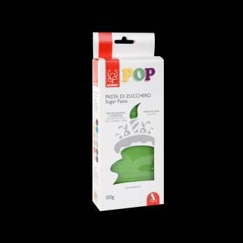 Pâte à sucre vert gazon POP 500gr