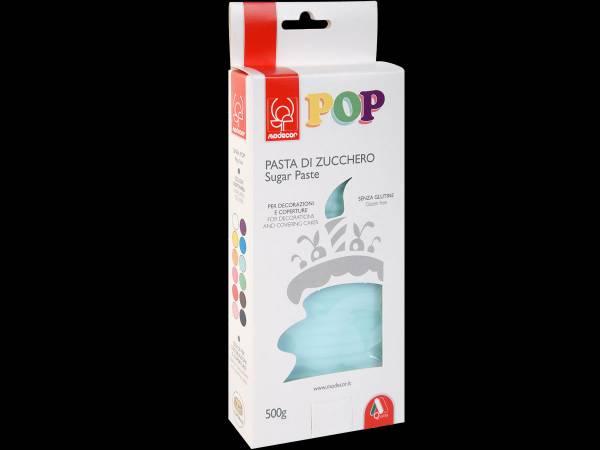 Pâte à sucre bleu ciel POP 500gr