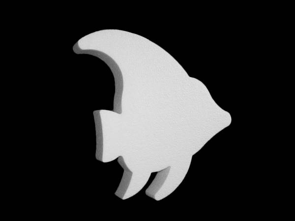 Socle polystyrene Poisson exotique