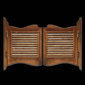 D cor porte de saloon en carton thema deco for Porte saloon western