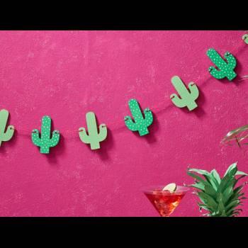 Guirlande de cactus Hot Summer