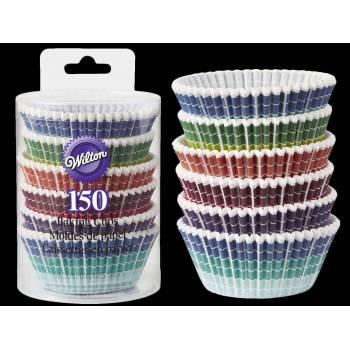 150 Caissettes cupcakes pixels Wilton