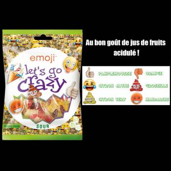 Bonbons emoji Let's go crazy