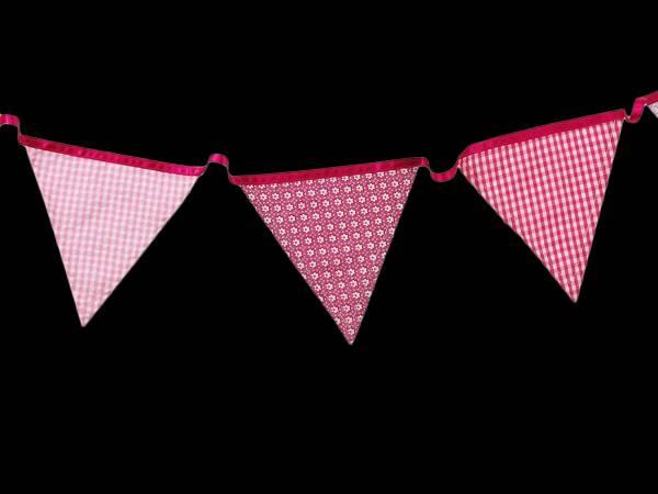 Guirlande de fanions Pink n mix