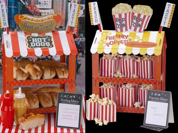 Stand à Pop corn/hot dog