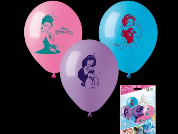 10 Ballons Princesses Disney