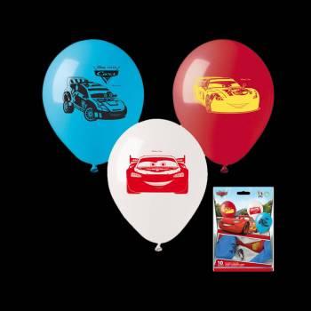 10 Ballons Cars