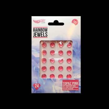 24 bijoux comestibles topaze fuchsia