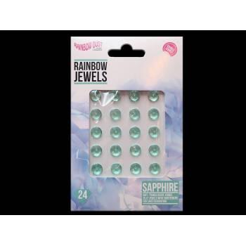 24 bijoux comestibles saphir mint
