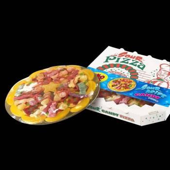 Pizza de bonbons acides
