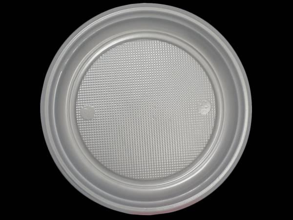 vaisselle jetable assiettes en plastique argent. Black Bedroom Furniture Sets. Home Design Ideas