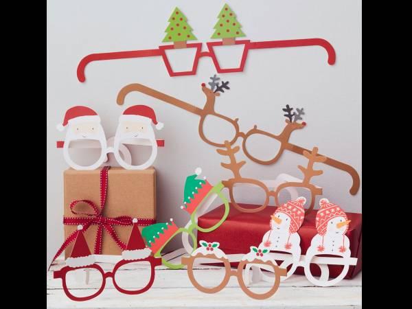 Lunettes à photobooth Noël