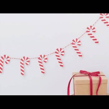 Guirlande Candy cane