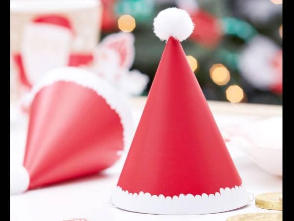 Mini Chapeaux de fête Père Noël