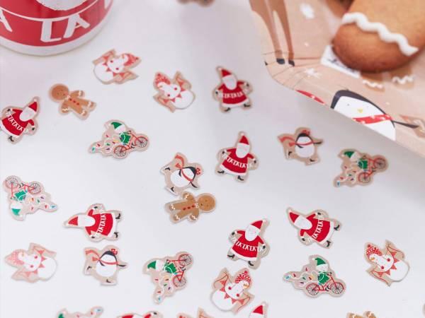 Confettis Père Noël et ses amis