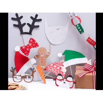 10 Accessoires à photobooth Noël