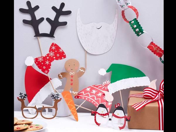 Accessoires à photobooth Noël