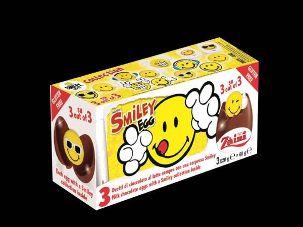 Oeufs en chocolat surprises Smiley