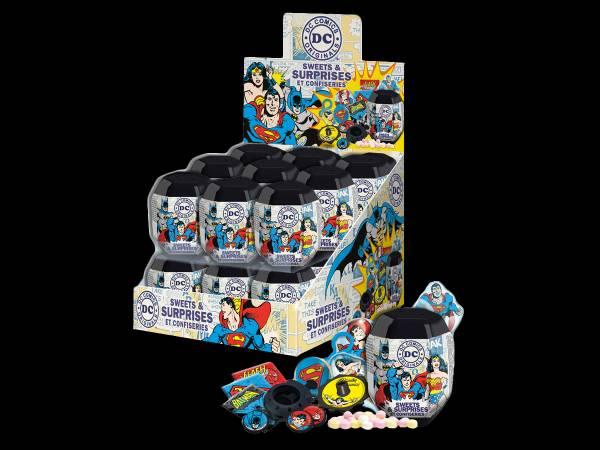 Capsules surprise DC Comics- bonbons anniversaire
