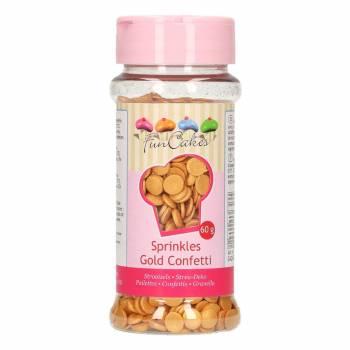Confettis en sucre Or Funcakes